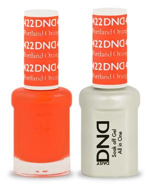 DND - Gel & Lacquer # 422 Portland Orange
