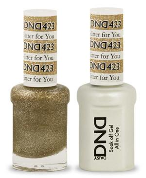 DND - Gel & Lacquer # 423 Glitter for You