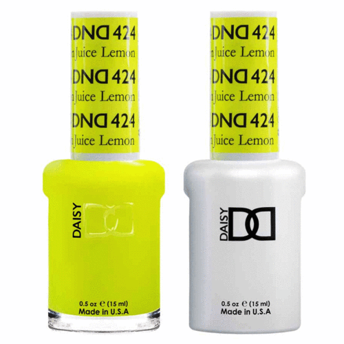 DND - Gel & Lacquer # 424 Lemon Juice