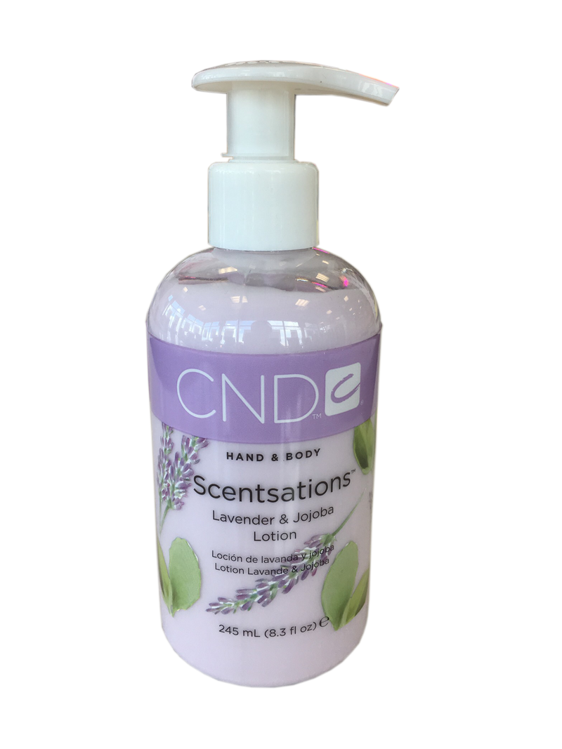 CND Hand & Body Lotion Holiday - Lavender & Jojob