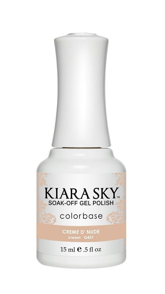 KIARA SKY GEL + MATCHING LACQUER (DUO) - G431 Creme D' Nude