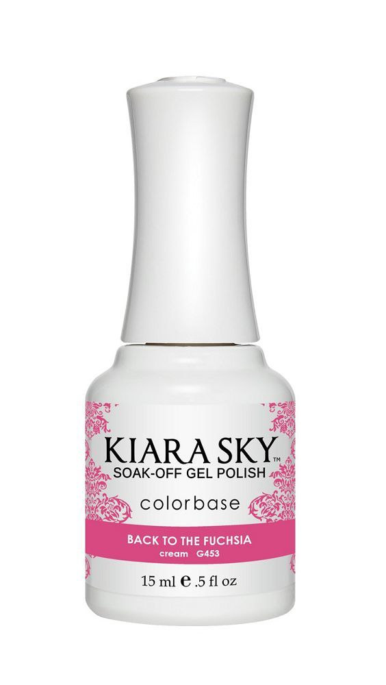 KIARA SKY GEL + MATCHING LACQUER (DUO) - G453 Back To The Fuchsia