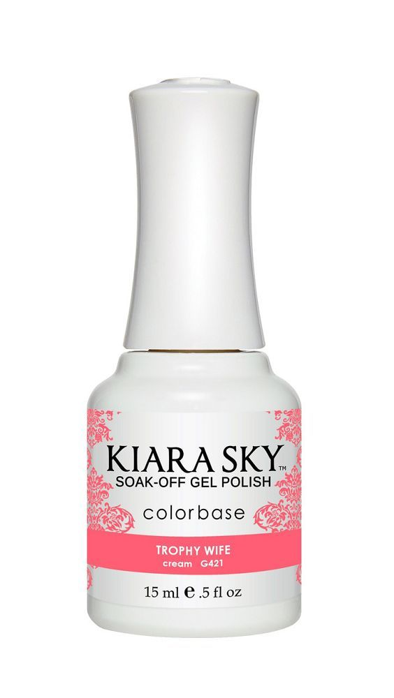 KIARA SKY GEL + MATCHING LACQUER (DUO) - G421 Trophy Wife