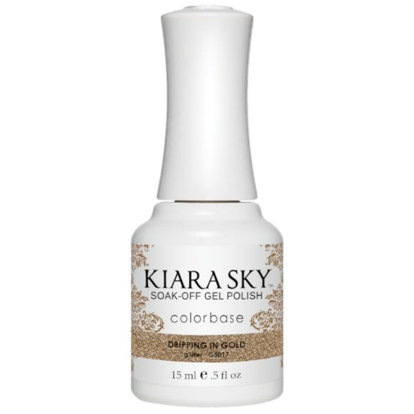 Kiara Sky ALL-In-One Gel - G5017 DRIPPING IN GOLD