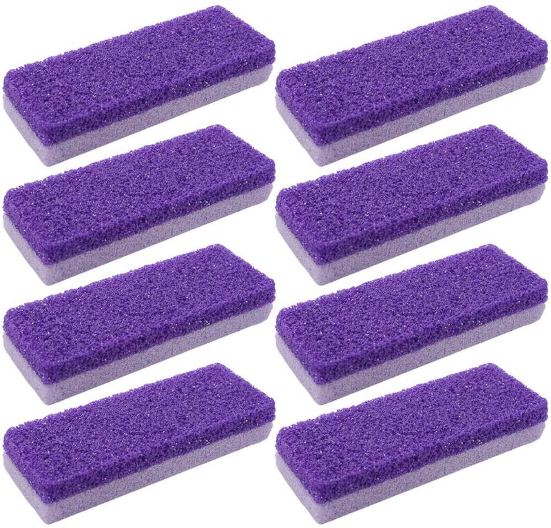 Happy Feet - 4 PCS Double Sided Pumice Stone Callus, Hard Skin Callus Remover and Scrubber Pedicure Tools Foot File for Feet Hands Exfoliator Pedicure Feet File