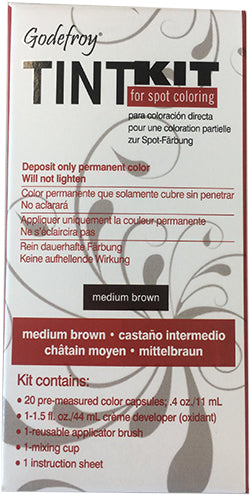 Tint Kit For Eyebrow - Medium Brown