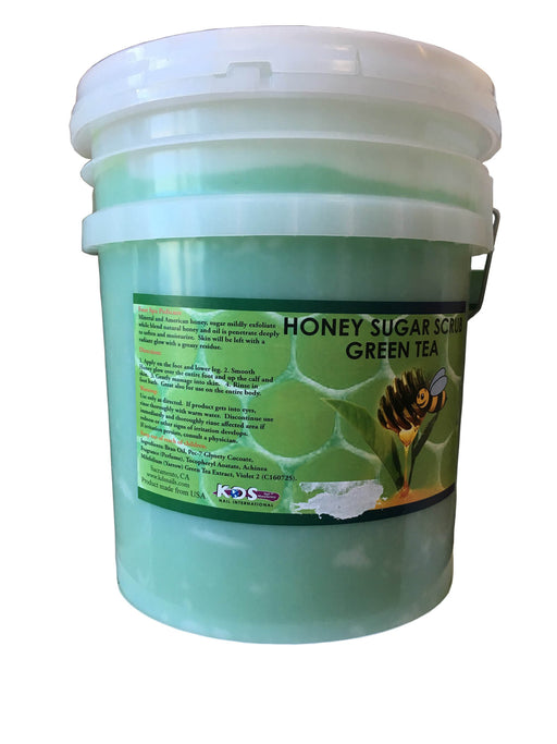 KDS Honey Sugar Scrub Bucket - Green Tea
