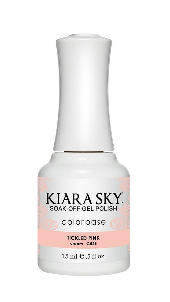 Kiara Sky Gel Polish - G523 Tickled Pink