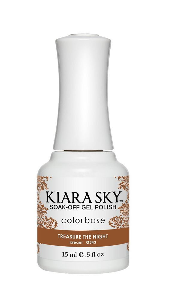 KIARA SKY GEL + MATCHING LACQUER (DUO) - G543 Treasure The Night