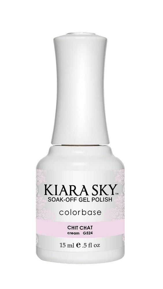 KIARA SKY GEL + MATCHING LACQUER (DUO) - G524 Chit Chat
