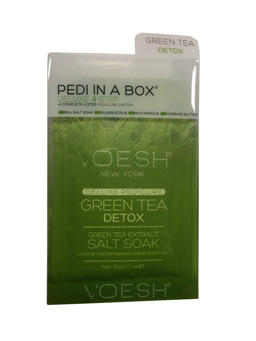 VOESH Deluxe Pedicure 4 Step - Green Tea