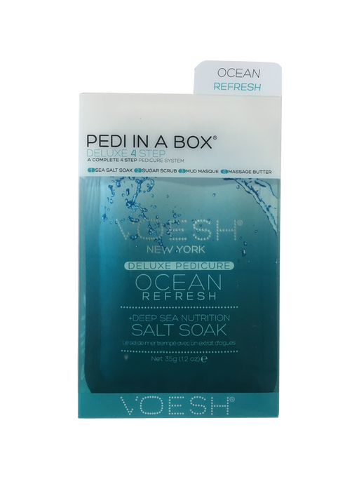 VOESH Deluxe Pedicure 4 Step - Ocean Mint