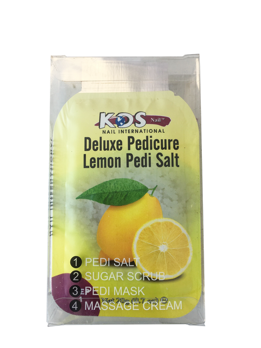 KDS Deluxe Pedicure 4 Step - Lemon