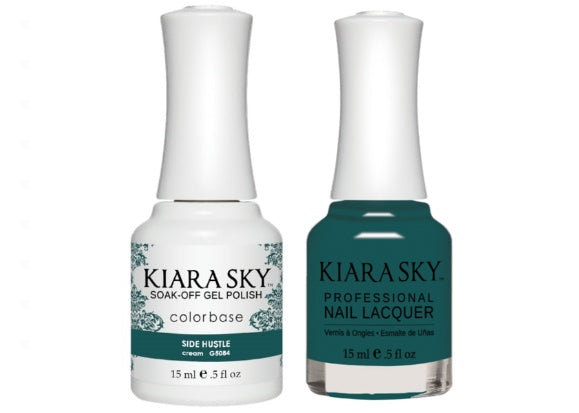 Kiara Sky All-In-One GEL + MATCHING LACQUER (DUO) - 5084 SIDE HU$TLE