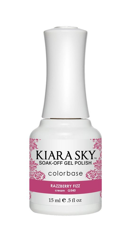 Kiara Sky Gel Polish - G540 Razzberry Fizz