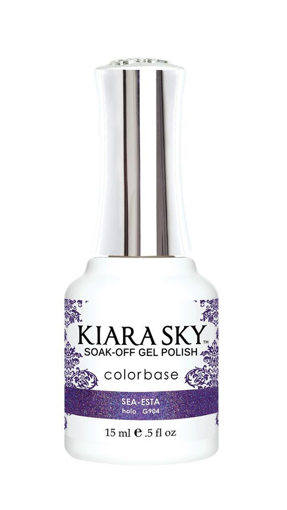Kiara Sky Holo Mermaid Gel Polish - G904 Sea-Esta