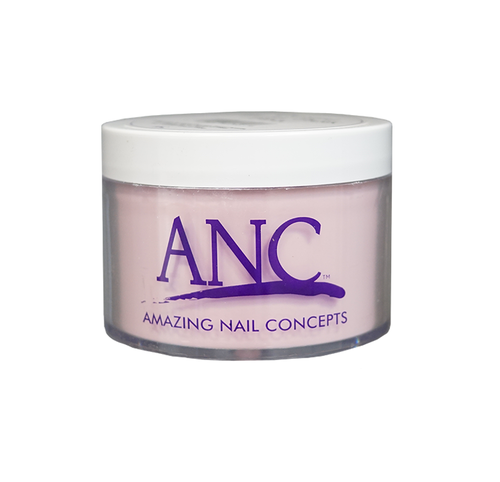 ANC Dipping Powder Pink & White 8 Oz - Crystal Extra Dark Pink