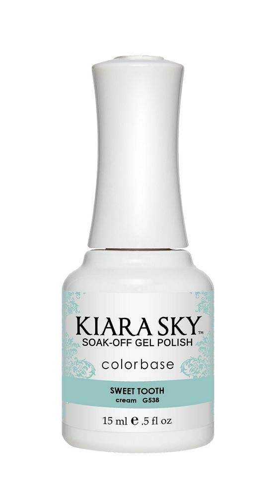 KIARA SKY GEL + MATCHING LACQUER (DUO) - G538 Sweet Tooth