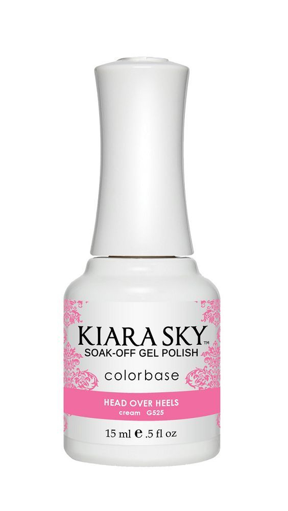 KIARA SKY GEL + MATCHING LACQUER (DUO) - G525 Head Over Heels