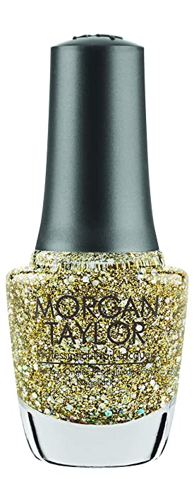 Morgan Taylor Nail Polish - All That Glitter Is Gold