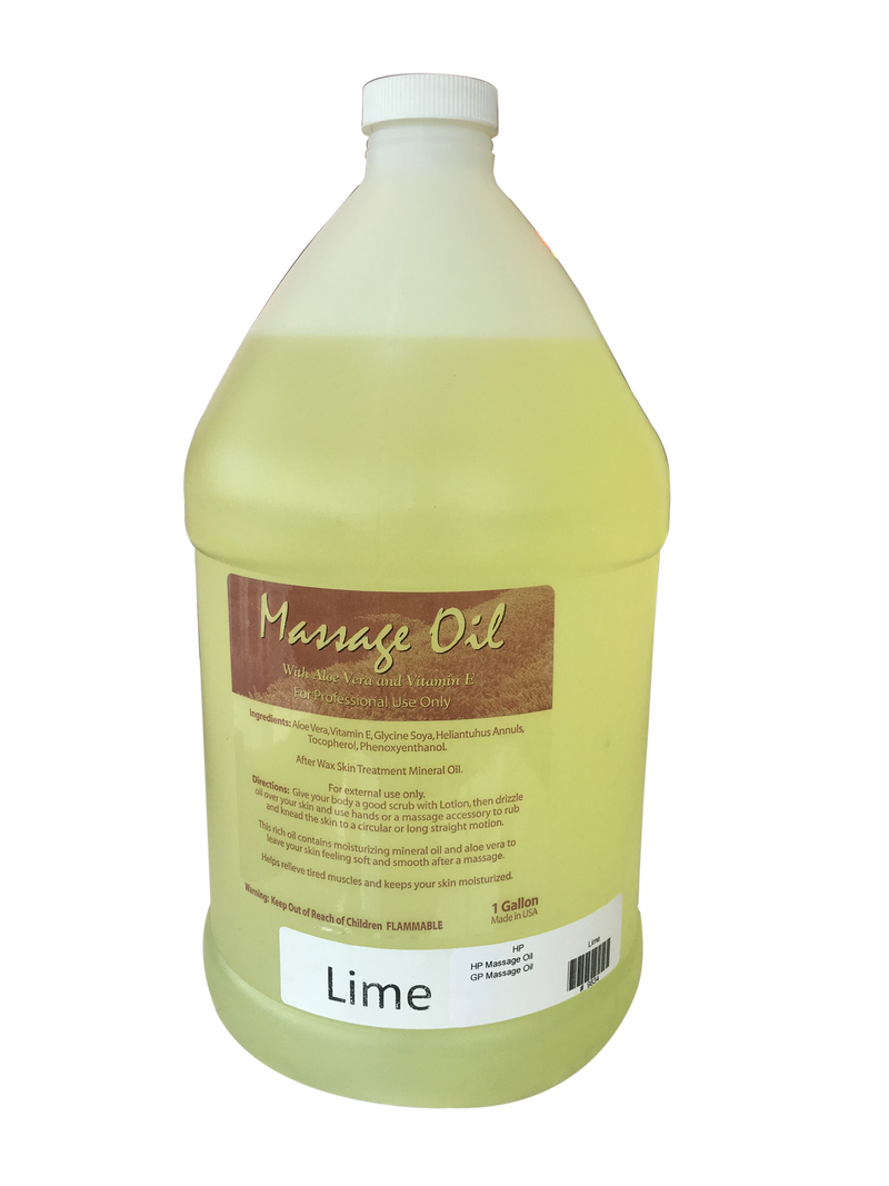 Happy Feet Massage Oil - Lime