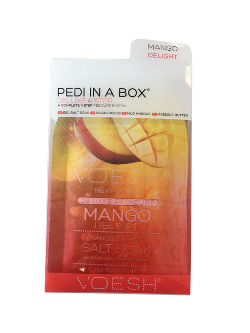 VOESH Deluxe Pedicure 4 Step - Mango
