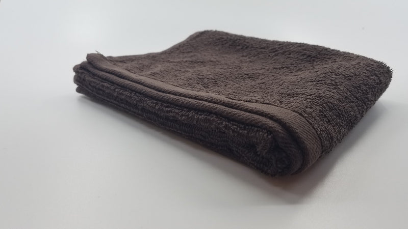 12 PCS Magna Plus Cotton Towels 100% Cotton - Brown