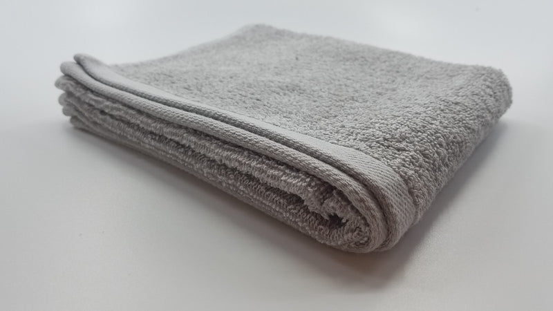 12 PCS Magna Plus Cotton Towels 100% Cotton - Silver Grey