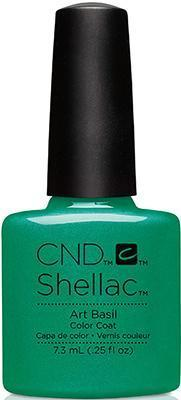 CND - Shellac Art Basil