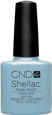 CND - Shellac Azure Wish