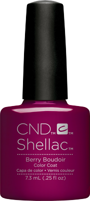 CND - Shellac Berry Boudier