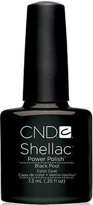CND - Shellac Black Pool