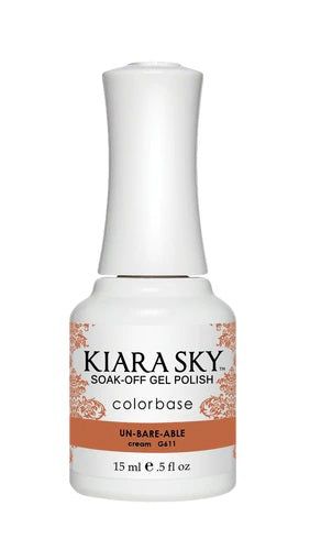 KIARA SKY GEL + MATCHING LACQUER (DUO) - G611 Un-Bare-Able