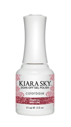 KIARA SKY GEL + MATCHING LACQUER (DUO) - G585 Route 66