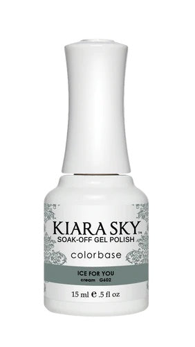 Kiara Sky Gel Polish - G602 Ice For You