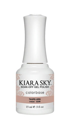 KIARA SKY GEL + MATCHING LACQUER (DUO) - G608 Taup-Less