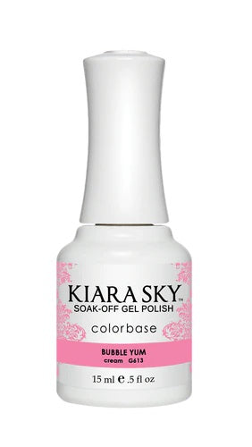 KIARA SKY GEL + MATCHING LACQUER (DUO) - G613 Bubble Yum