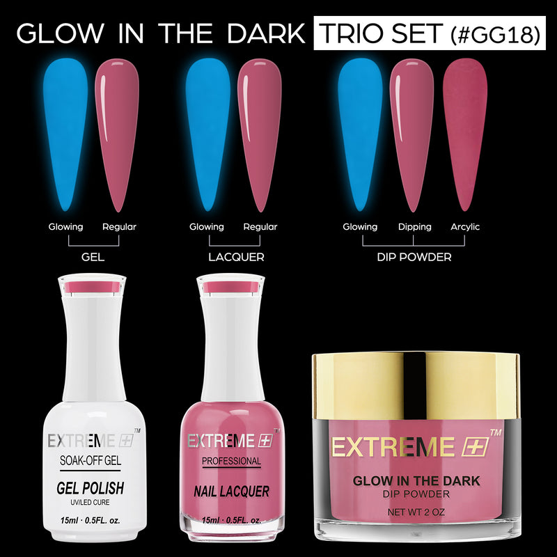 EXTREME+ 3 IN 1 Glow In Dark Dip -