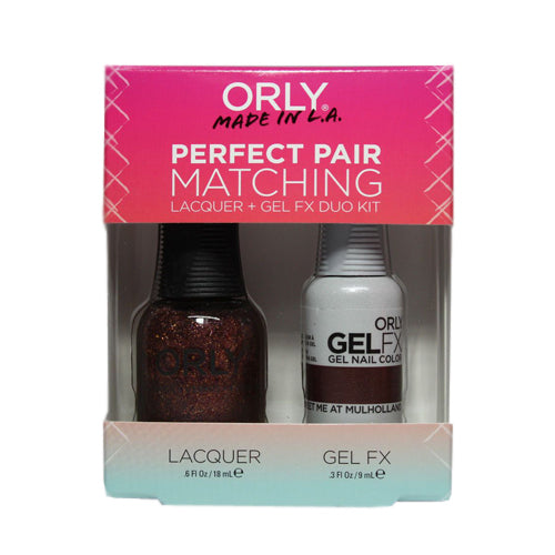 Orly Gel Matching Set - Meet Me at Muholland