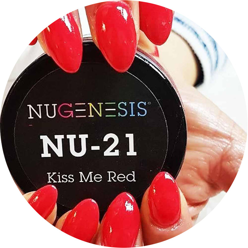 Nugenesis Dipping - NU 021 Kiss Me Red