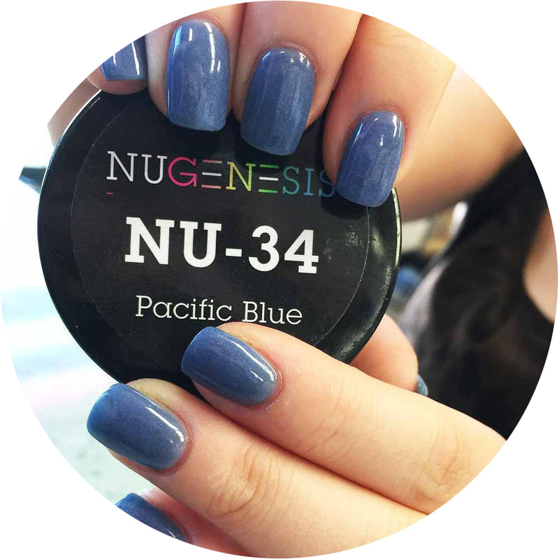 Nugenesis Dipping - NU 034 Pacific Blue