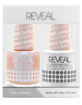 Reveal Duo Gel and Nail Lacquer Set - 005 Iridescent Ice