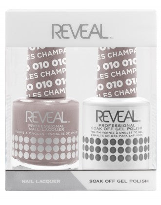 Reveal Duo Gel and Nail Lacquer Set - 010 Champagne Bubbles