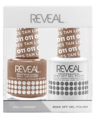 Reveal Duo Gel and Nail Lacquer Set - 011 Tan Lines