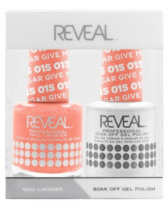 Reveal Duo Gel and Nail Lacquer Set - 015 Give Me Some Sugar