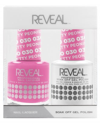 Reveal Duo Gel and Nail Lacquer Set - 030 Pretty Peonies