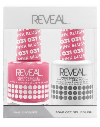 Reveal Duo Gel and Nail Lacquer Set - 031 Blush Pink