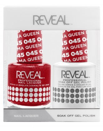 Reveal Duo Gel and Nail Lacquer Set - 045 Drama Queen