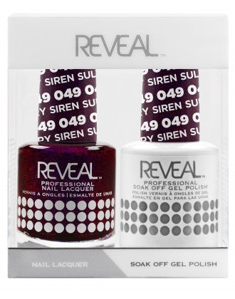 Reveal Duo Gel and Nail Lacquer Set - 049 Sultry Siren