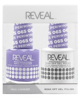 Reveal Duo Gel and Nail Lacquer Set - 065 Periwinkle Dreams